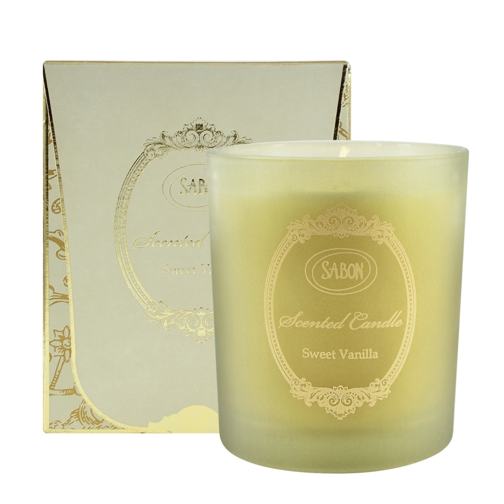 SABON 香蘭玻璃蠟燭 230g Scented Candle #Sweet Vanilla
