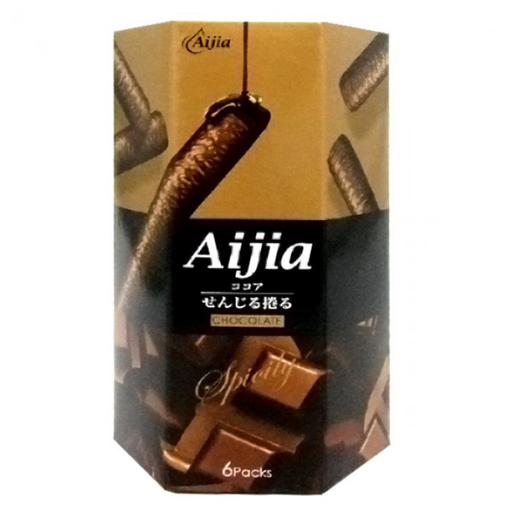 愛加 日式煎捲-巧克力味 (84g)