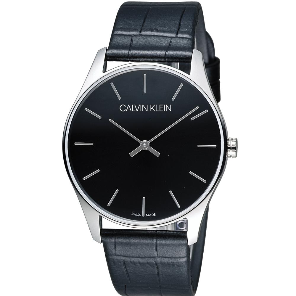 CK Calvin Klein Classic 簡約經典時尚腕錶 K4D211C1