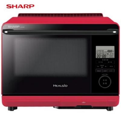SHARP 夏普 26L HEALSIO下拉旋鈕式變頻微電腦水波爐 AX-AS6T-