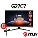 msi微星 Optix G27C7 27型曲面電競螢幕(送MAG MT81 螢幕壁掛架) product thumbnail 1