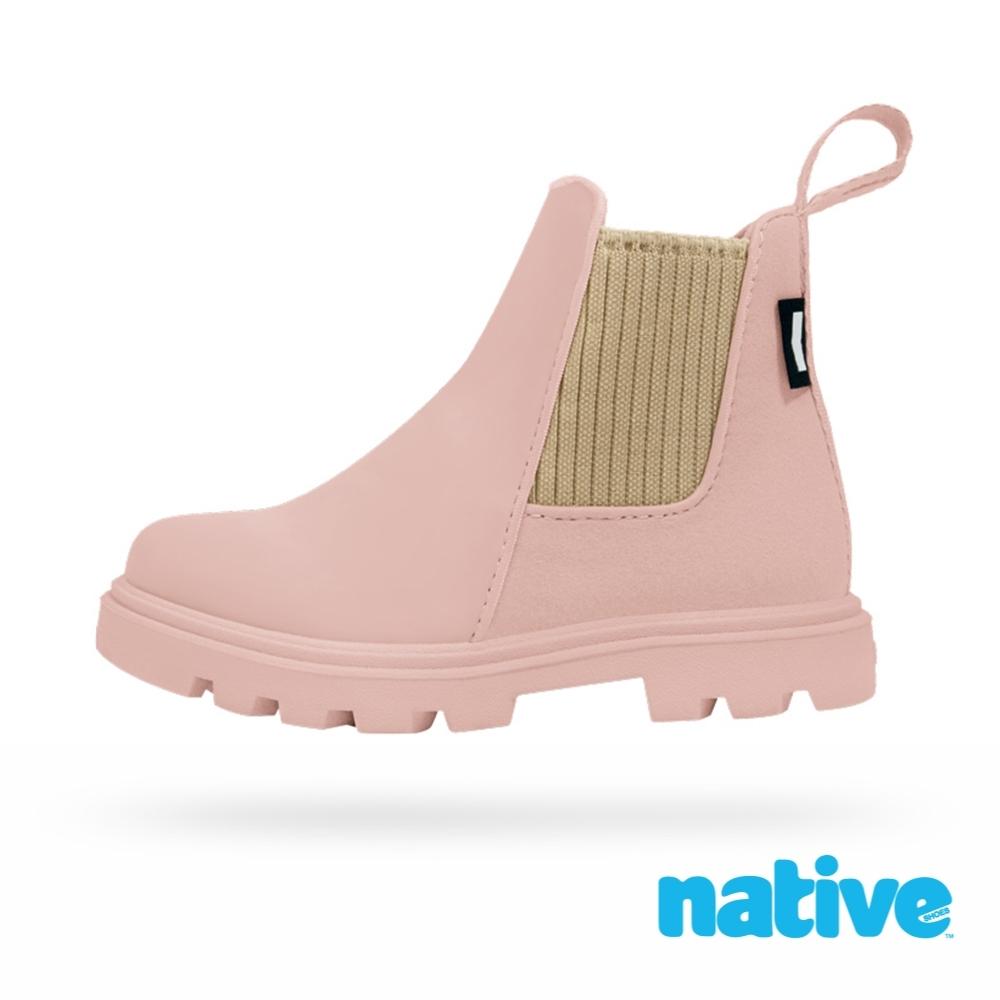 native 小童鞋 KENSINGTON 小肯辛頓短靴-柔膚粉