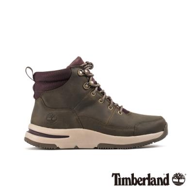 Timberland 女款中灰色全粒面登山靴|A24Z9