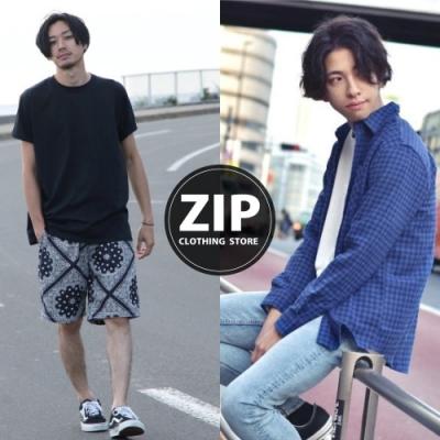 迎秋換季出清指定品79折-ZIP日本男裝