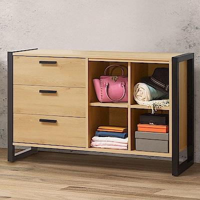 Homelike 東理4尺置物櫃-120x40x76cm