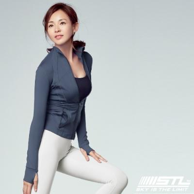 STL Fine Jacket 韓國 運動機能極輕量立領外套 摩登霧藍