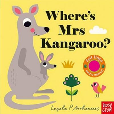 Where s Mrs Kangaroo? 袋鼠太太在哪裡?不織布翻翻書