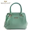 法國BAGGLY&CO瑞麗卡漾彩大開口手提側背包(五色)