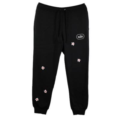 NIKE 女 NSW PANT FLC EMB FRUIT 運動棉長褲