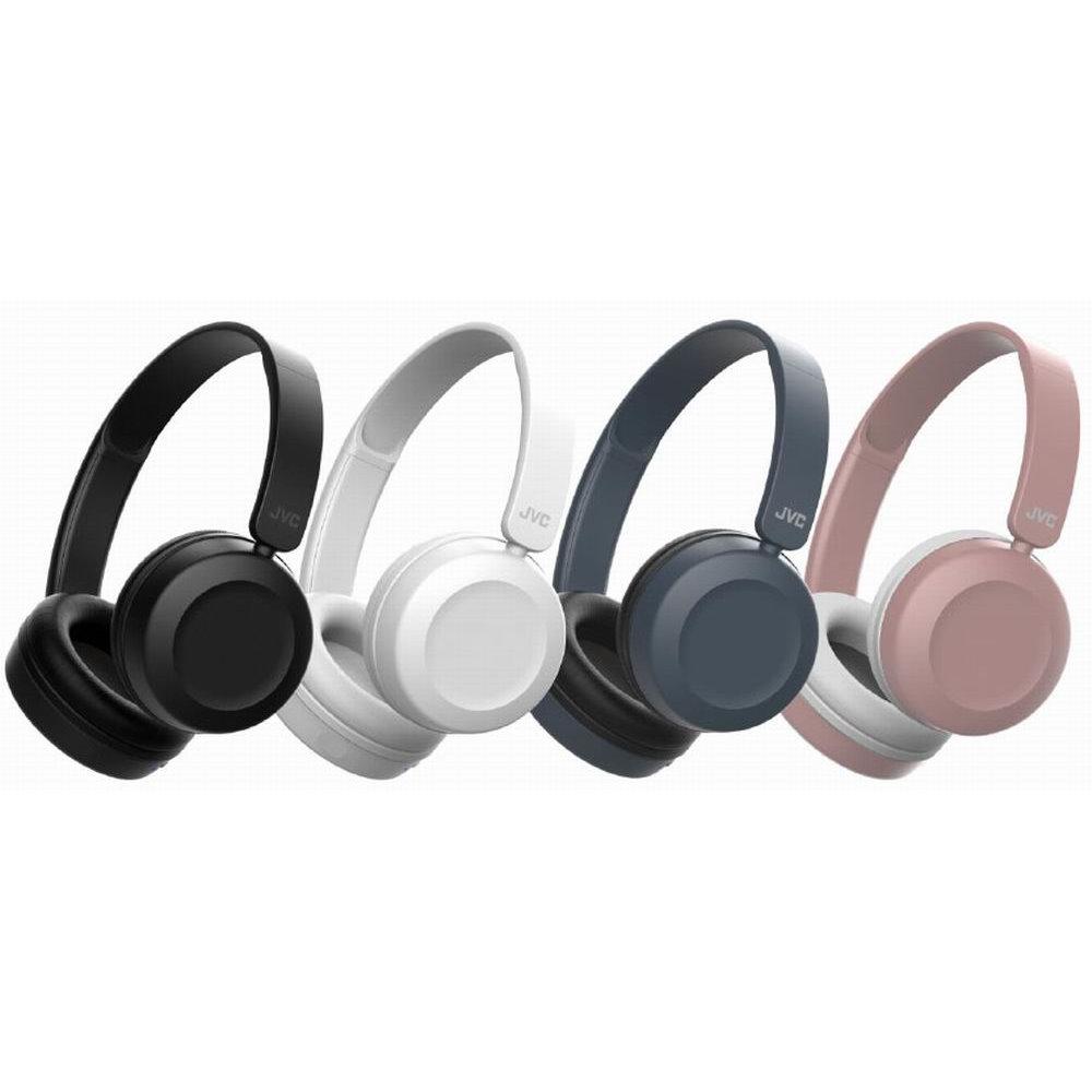 JVC頭戴式摺疊可通話耳麥HA-S31M送百元耳機