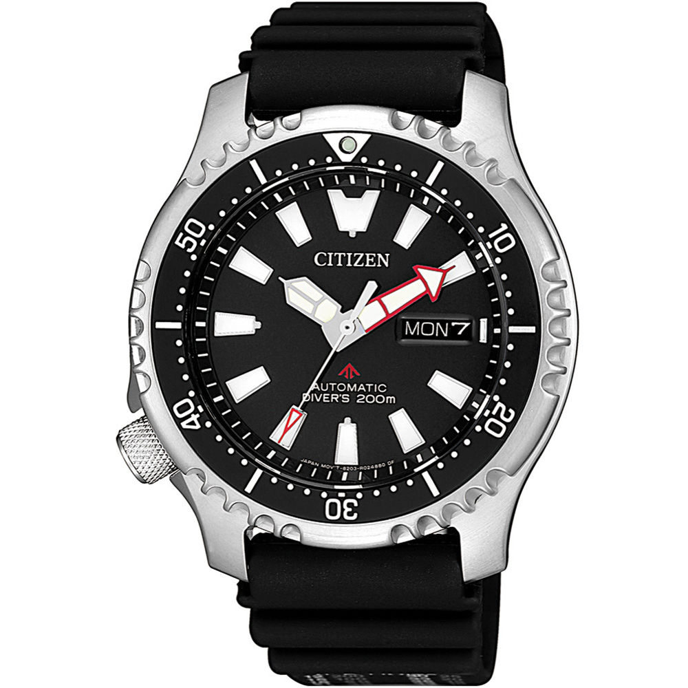 CITIZEN星辰 海底探險 限量200米潛水機械錶(NY0080-12E)-42mm @ Y!購物