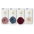 DDPOP iPhone 6/6S Plus 韓流明星手機殼 玫瑰花球款