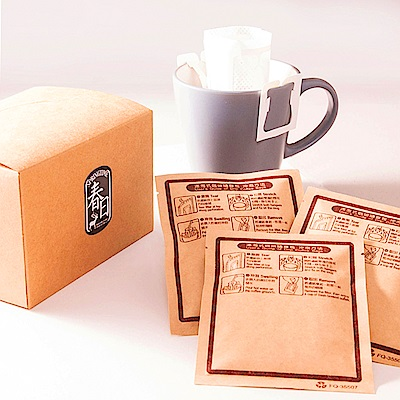 春日咖啡-耶加雪菲 罕倩碧G1瀘掛式咖啡10入/盒x5
