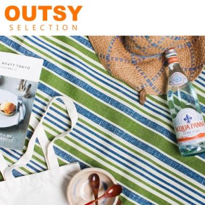 【OUTSY】台灣製限量印花輕量野餐墊