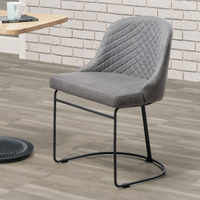 H&D 多倫多灰色造型餐椅