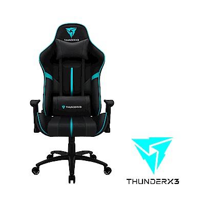 【ThunderX3】BC3  AIR系列 電競賽車椅(黑藍色)
