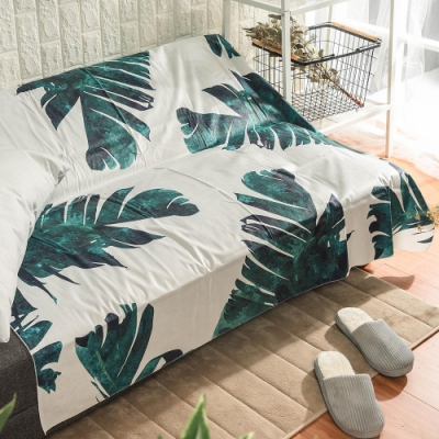 樂嫚妮 北歐裝飾掛毯/掛布/門簾/桌巾-樹葉 150X130cm