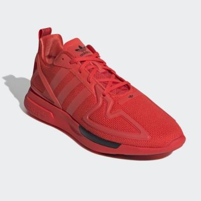 adidas 休閒鞋 慢跑 運動 男鞋 橘紅 FV8478 ZX 2K FLUX