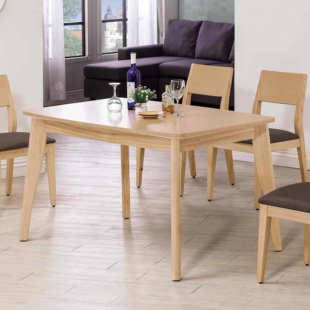 H&D 奧斯卡原木4.3尺餐桌