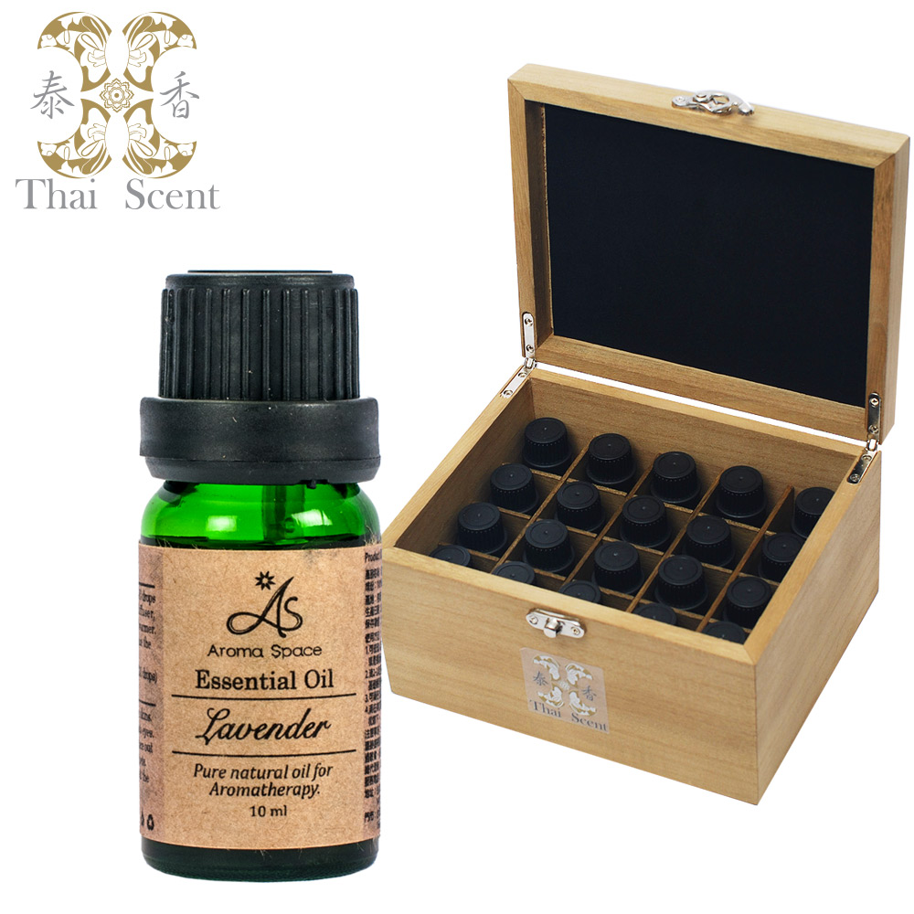 ThaiScent泰香 100%天然純精油10ml 贈收納木盒(多款精油任選)