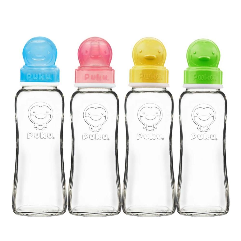 卡哇伊玻璃奶瓶-240cc