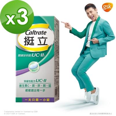 【挺立】關鍵迷你錠UCII (30錠X3盒)