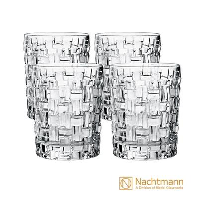 [任選均一價 平均200/入]【Nachtmann】經典威士忌杯4入(巴莎諾瓦/高地威士忌/名望威士忌)