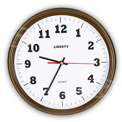 LIBERTY利百代 14吋簡約復古掛鐘 LB-1007