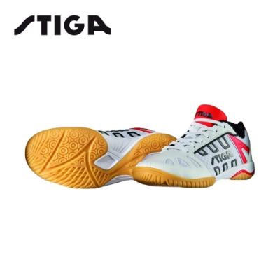 STIGA 專業桌球鞋 LINER II 白紅 15600218