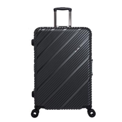 【OUTDOOR】SKYLINE FRAME-28吋旅行箱-鐵灰編織紋 OD9077A28GY