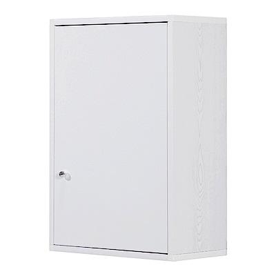 文創集 戴倫環保1.5尺塑鋼壁掛單門置物櫃/收納櫃-44x24x65cm-免組