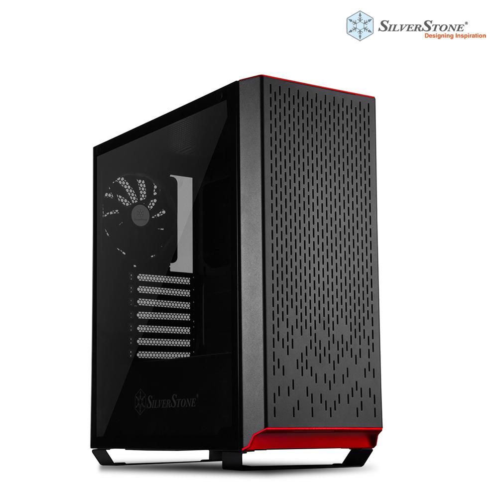 銀欣 SliverStone 鋒馳系列 PM02B-G 電競電腦機殼