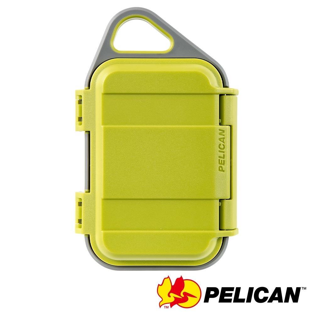 美國 PELICAN G10 GOCASE 微型防水氣密箱-(萊姆綠)
