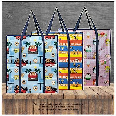 DF生活趣館 - 授權卡通購物袋 批發袋 收納袋 - 特大顏色隨機出貨