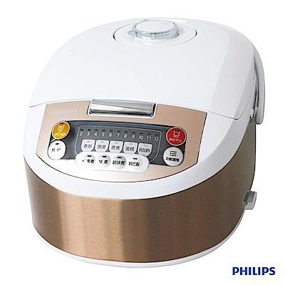 PHILIPS 飛利浦 六人份 微電腦電子鍋 HD3034