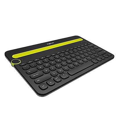 Logitech羅技K480多功能藍芽鍵盤黑
