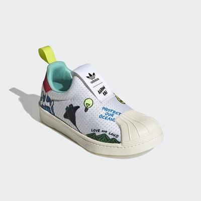 adidas SUPERSTAR 360 PRIMEBLUE 經典鞋 男童/女童 FX4920