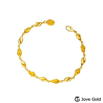 Jove Gold 漾金飾 小趣味黃金手鍊