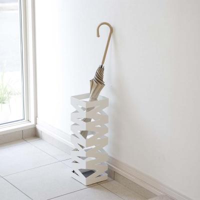 【YAMAZAKI】搖滾造型傘架-白★雨傘筒/雨傘桶