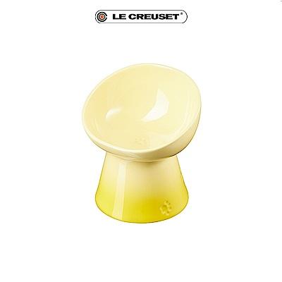 [結帳7折] LE CREUSET 瓷器寵物碗-閃亮黃