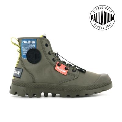 PALLADIUM PAMPA LITE OVB NEON輕量標籤軍靴-中性-綠