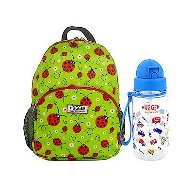 英國Hugger孩童背包水壺組 小瓢蟲+玩具車