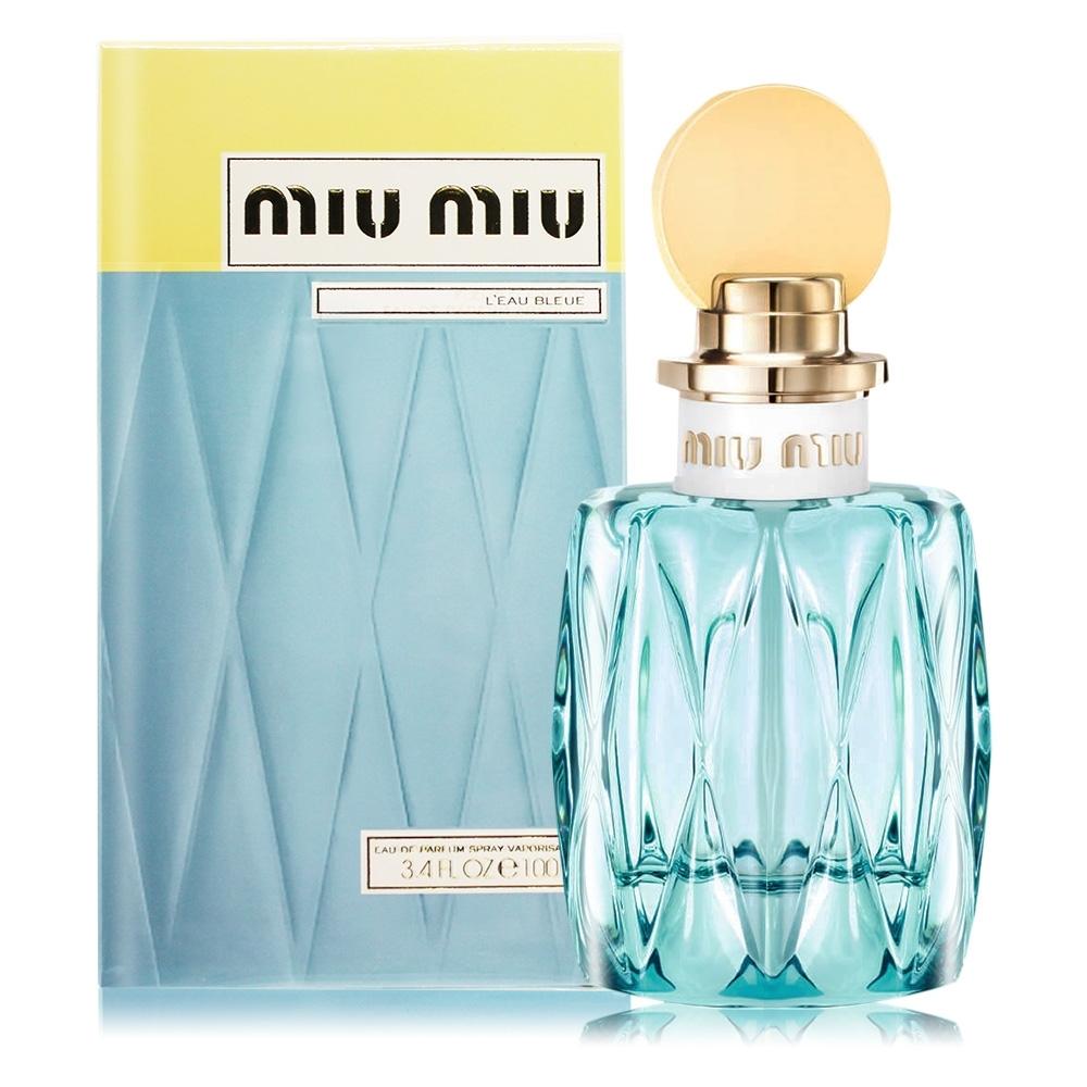 MIU MIU 春日花園女性淡香精 L'eau Bleue 100ml EDP-香水航空版