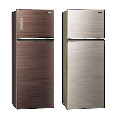 Panasonic國際牌 485L <b>1</b>級變頻<b>2</b>門電冰箱 NR-B489TG 台松