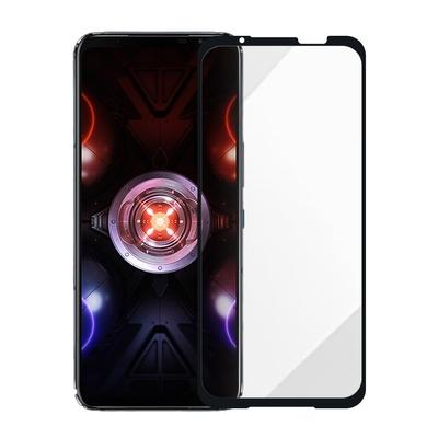 Metal-Slim ASUS ROG Phone 5 Ultimate (ZS673KS) 全膠滿版9H鋼化玻璃貼-晶鑽黑