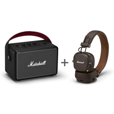 Marshall Kilburn II + Major III Bluetooth 棕色