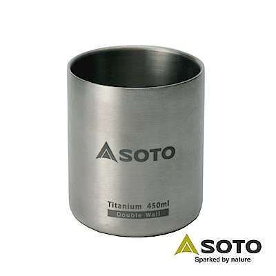 SOTO 鈦合金真空保溫杯ST-AM45