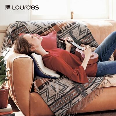 Lourdes日式溫熱揉捏V型按摩抱枕