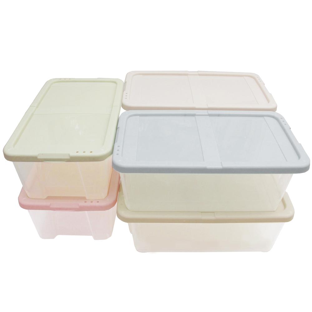 月陽多用途半透明鞋盒收納盒整理盒超值6入(PP86)