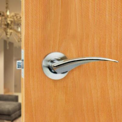 守門員系列 K203 水平把手鎖(銀色 60mm)下座水平鎖 房間鎖 管型板手鎖 客廳鎖
